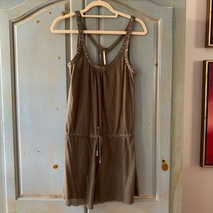 Free People Tank Dress in Olive